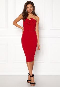 Girl In Mind Kendall Dress Red Bubbleroom.fi