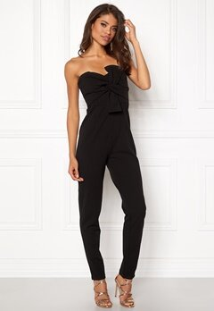 Girl In Mind Maisie Jumpsuit Blk Bubbleroom.fi