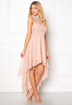 Girl In Mind Midi Lace Dress Pink Bubbleroom.fi