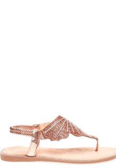 Glossy Sandaler, Dina Champagne Bubbleroom.fi