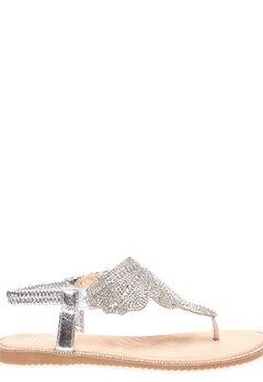 Glossy Sandaler, Dina Silver Bubbleroom.fi