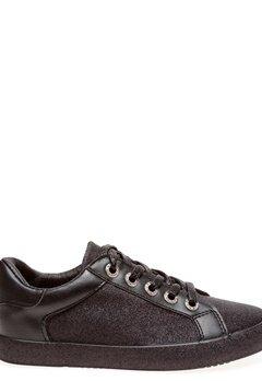 Glossy Sneakers, Kinna Svart glitter Bubbleroom.fi