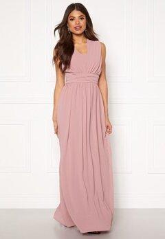 Goddiva Multi Tie Chiffon Dress Lavender Bubbleroom.fi