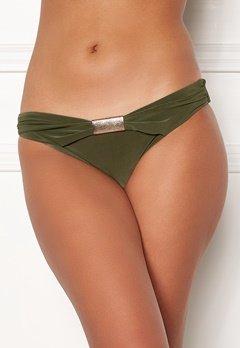 Goddiva Resort Halterneck Bikini Bottom khaki Bubbleroom.fi