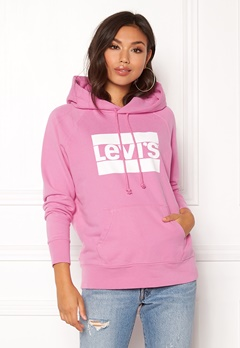LEVI'S Graphic Sport Hoodie Black Sheep Bubbleroom.fi