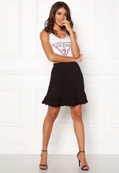 Guess Alexia Sweater Skirt Jet Black Bubbleroom.fi