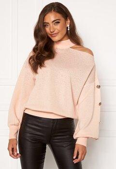 Guess Anna LS Sweater G6Z0 Pink Powder Bubbleroom.fi