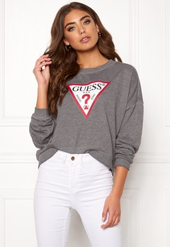 Guess Basic Fleece Burn Grey Bubbleroom.fi