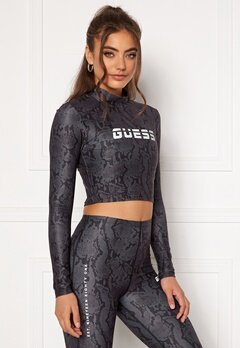 Guess Cropped Top Long Sleeve GBAM Bubbleroom.fi