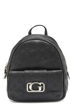 Guess Emilia Small Backpack Black Bubbleroom.fi