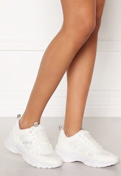 Guess Flaus Sneakers White Bubbleroom.fi