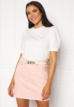 Guess Lias Adjustable Pant Belt White Bubbleroom.fi