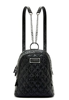 Guess Lola Backpack Black Bubbleroom.fi
