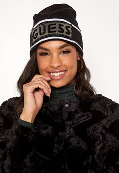 Guess Noa Hat Jet Black Bubbleroom.fi