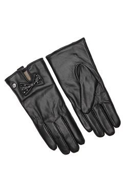 Guess Not Coordinated Gloves Black Bubbleroom.fi