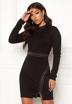 Guess Racquel Dress Noir de Jais Bubbleroom.fi