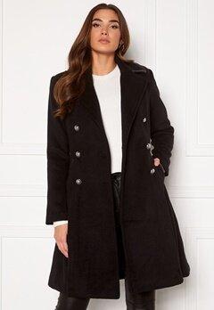 Guess Rossana Coat JBLK Jet black Bubbleroom.fi