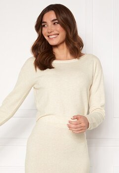 Guess Tanya Boat Neck Pullover F33 Oatmeal Heather Bubbleroom.fi