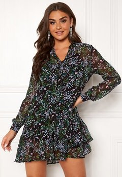 Guess Veronica Dress Forget Me Not Flower Bubbleroom.fi
