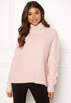 Samsøe & Samsøe Hal Turtleneck Morganite Bubbleroom.fi