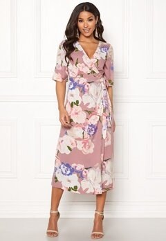 Happy Holly Adaline occasion dress Lavender / Patterned Bubbleroom.fi