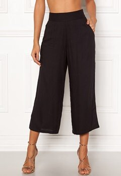 Happy Holly Addy wide pants Black Bubbleroom.fi