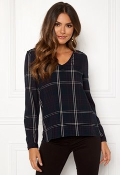 Happy Holly Adele blouse Checked Bubbleroom.fi
