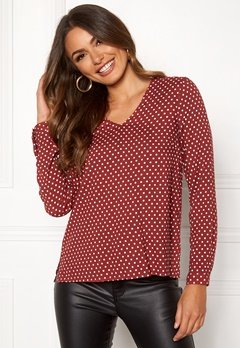 Happy Holly Adele blouse Dotted Bubbleroom.fi