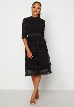 Happy Holly Agnes Lace Dress Black bubbleroom.fi