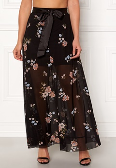 Happy Holly Alaina maxi skirt Black Bubbleroom.fi