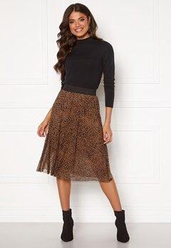 Happy Holly Alaina mesh skirt Leopard Bubbleroom.fi