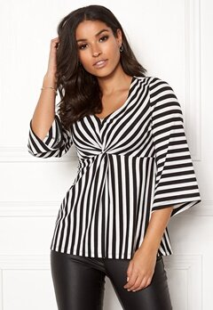 Happy Holly Alessa top Striped Bubbleroom.fi