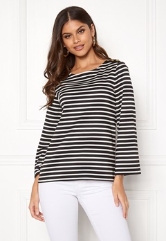 Happy Holly Alex top Black / Offwhite Bubbleroom.fi