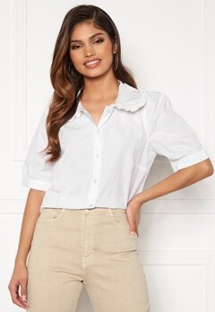 Happy Holly Alexandra blouse White Bubbleroom.fi