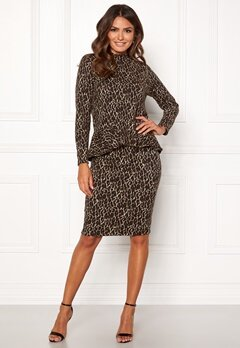 Happy Holly Alexandra skirt Leopard Bubbleroom.fi