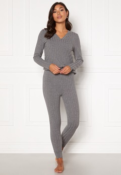 Happy Holly Alice lounge legging Grey melange Bubbleroom.fi