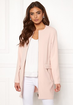 Happy Holly Alina coat Light pink Bubbleroom.fi
