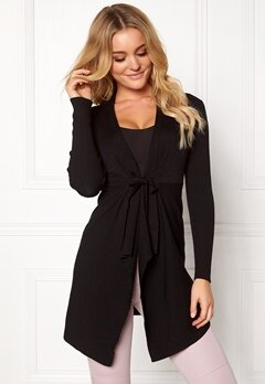Happy Holly Aliza cardigan Black Bubbleroom.fi