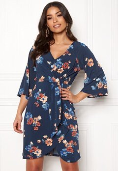 Happy Holly Alva dress Blue / Patterned Bubbleroom.fi