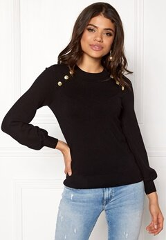 Happy Holly Amelia sweater Black Bubbleroom.fi