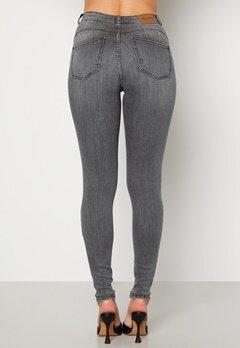Happy Holly Amy push up jeans Grey Bubbleroom.fi