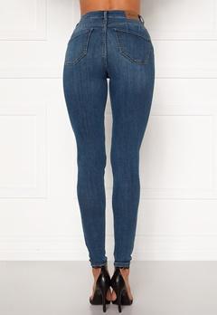 Happy Holly Amy push up jeans Medium denim Bubbleroom.fi