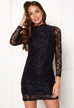 Happy Holly Annabel lace dress Black / Dark blue Bubbleroom.fi