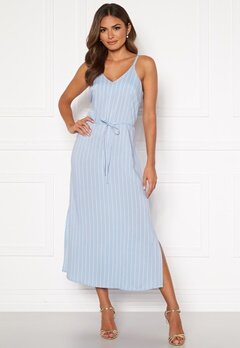 Happy Holly Annabelle dress Light blue / Striped Bubbleroom.fi