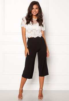 Happy Holly Anne Trousers Black Bubbleroom.fi