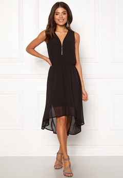 Happy Holly Annie dress Black Bubbleroom.fi