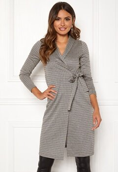Happy Holly Ashley wrap cardigan Checked Bubbleroom.fi