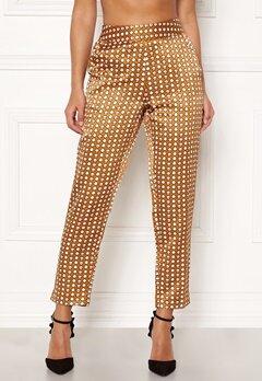 Happy Holly Athena pants Cinnamon / Patterned Bubbleroom.fi