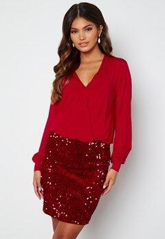 Happy Holly Belle dress Red bubbleroom.fi