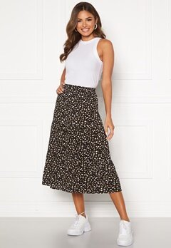 Happy Holly Bianka skirt Black / Patterned Bubbleroom.fi